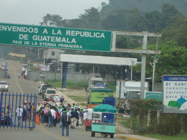 TRANSFER FROM PALENQUE TO FLORES GUATEMALA